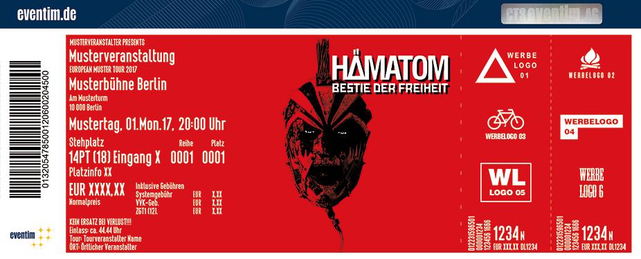 Karten für HÄMATOM: Bestie der Freiheit - Tour 2018 in Berlin