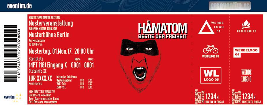 Karten für HÄMATOM: Bestie der Freiheit - Release Show in Hamburg
