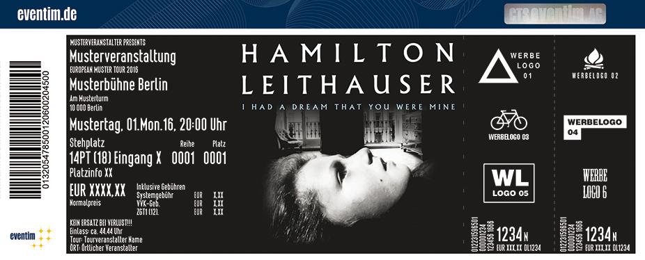 Hamilton Leithauser Karten für ihre Events 2017
