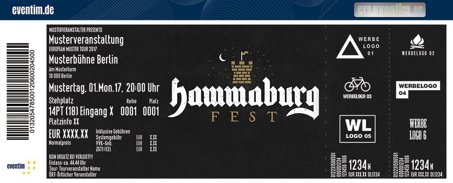 Karten für Hammaburg Fest 2018 in Hamburg