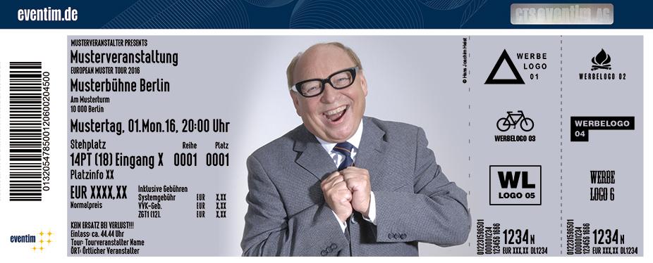 Karten für Hans-Joachim Heist: Noch´n Gedicht - Ein Heinz Erhardt-Abend in Gera