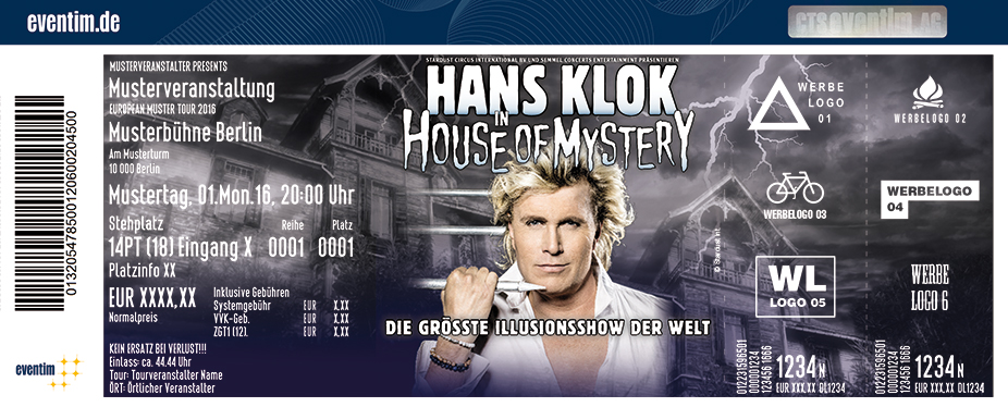 Karten für Hans Klok: House of Mystery in Kempten