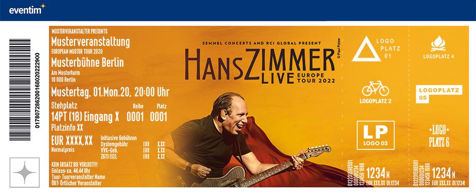 Hans Zimmer Live - Europe Tour 2022