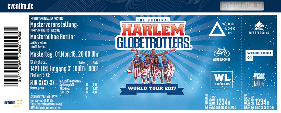 Harlem Globetrotters Karten für ihre Events 2017