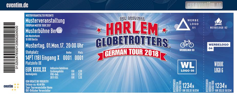 Karten für Harlem Globetrotters: German Tour 2018 in Rostock