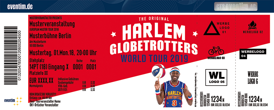 The Harlem Globetrotters: World Tour 2019