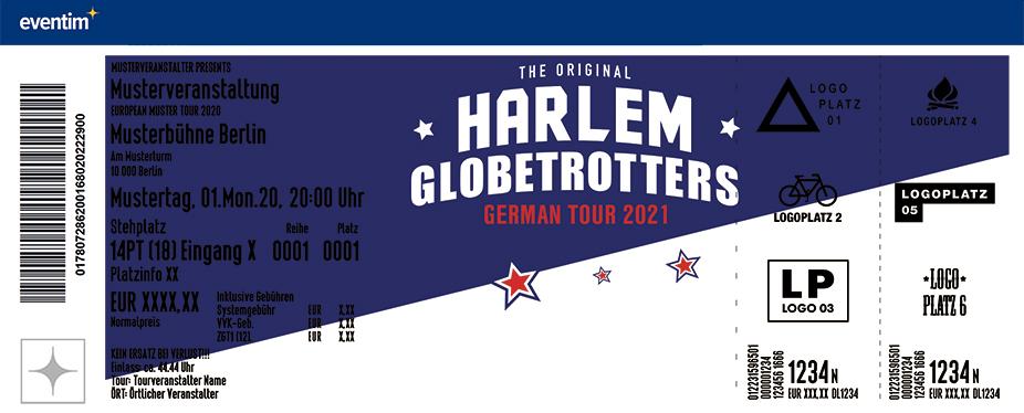 The Harlem Globetrotters - Tour 2021