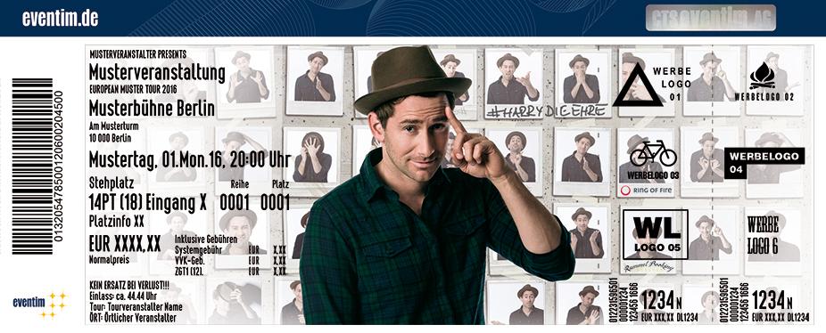 Karten für Harry G: #HarrydieEhre in Hof / Saale