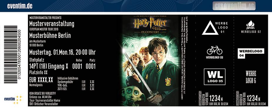 Karten für Harry Potter und die Kammer des Schreckens - in Concert in Oberhausen
