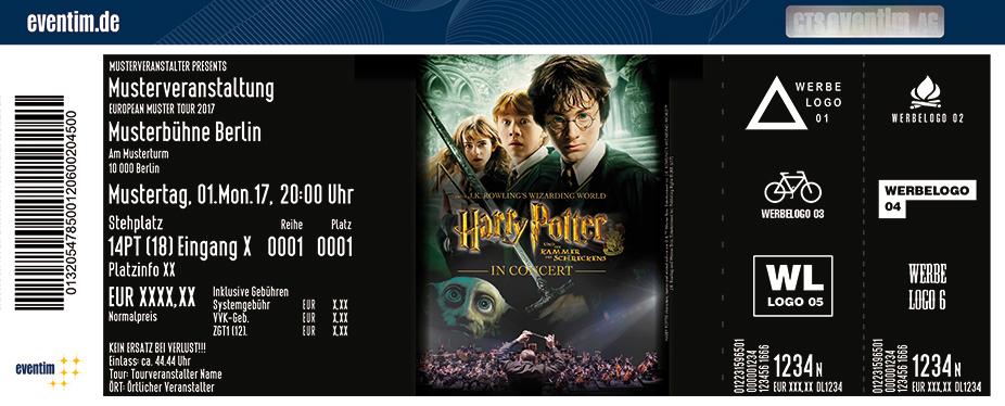 Karten für Harry Potter und die Kammer des Schreckens - in Concert in Stuttgart