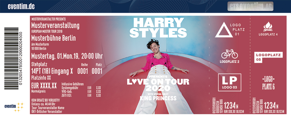 Harry Styles - Love On Tour 2020