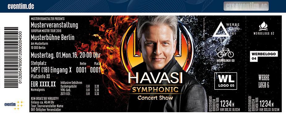 Karten für Havasi Symphonic Concert in Berlin in Berlin