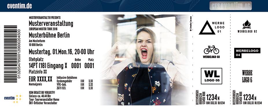 Karten für Hazel Brugger in Hannover