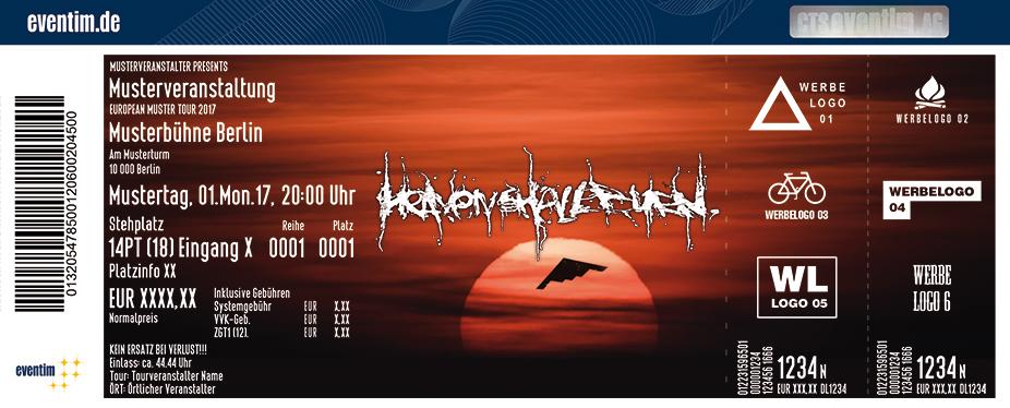 Karten für Heaven Shall Burn in Stuttgart