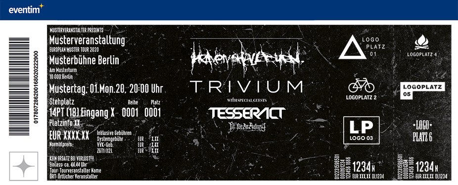 Heaven Shall Burn & Trivium + TesseracT, Fit For An Autopsy
