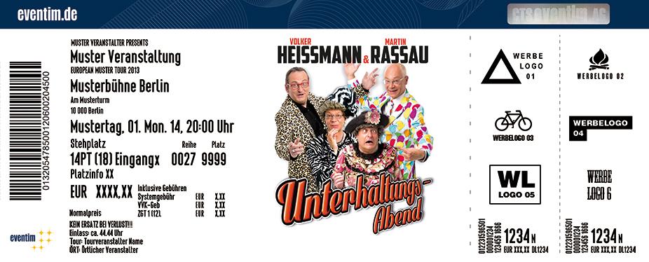 Karten für Heißmann & Rassau: Unterhaltungsabend in Mainz