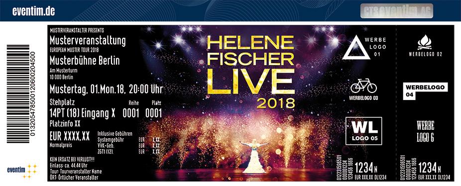 Helene Fischer Karten für ihre Events 2018