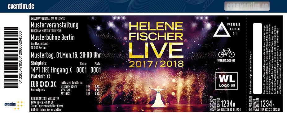 Karten für Helene Fischer - Live 2017/2018 in Oberhausen