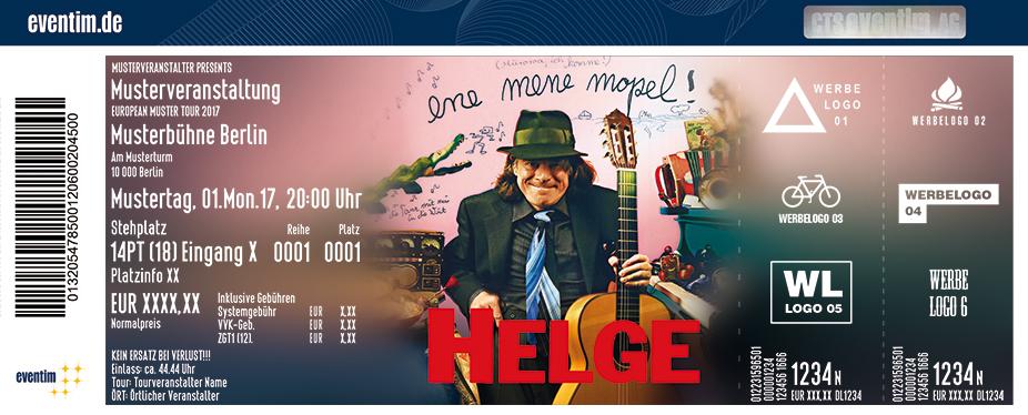 Karten für Helge Schneider: ene mene mopel! in Regensburg