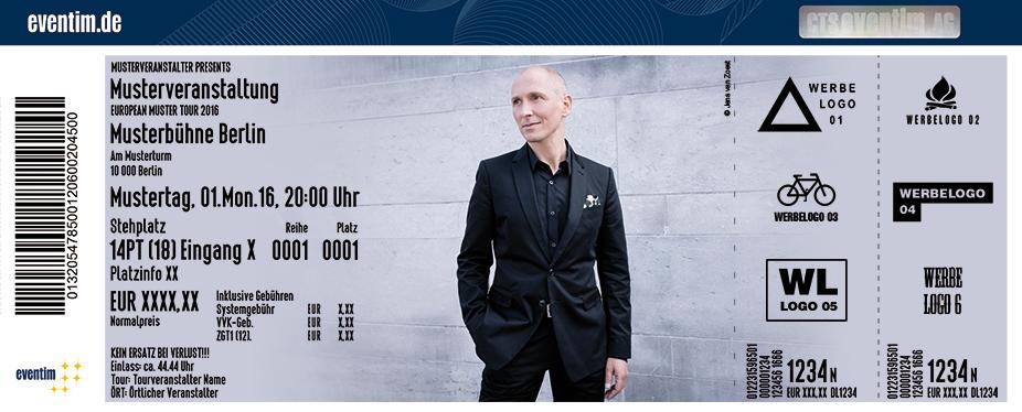 Karten für Helmut Lotti: Die Comeback Tour in Aachen
