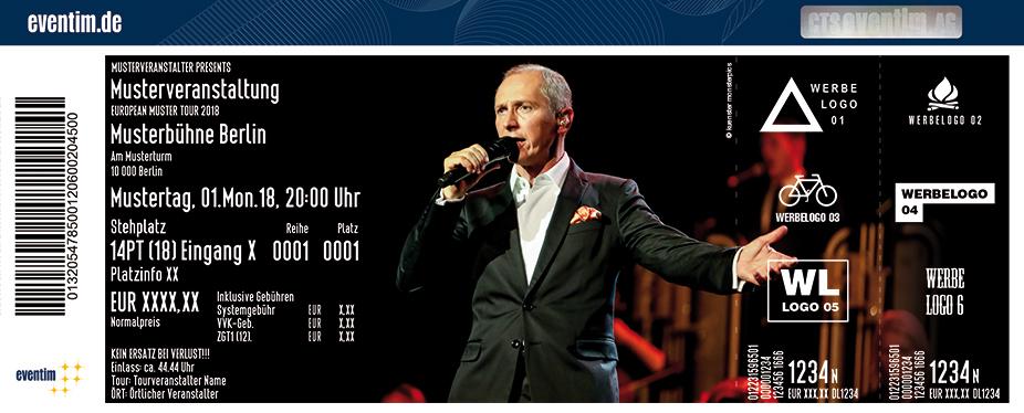 Helmut Lotti Karten für ihre Events 2018