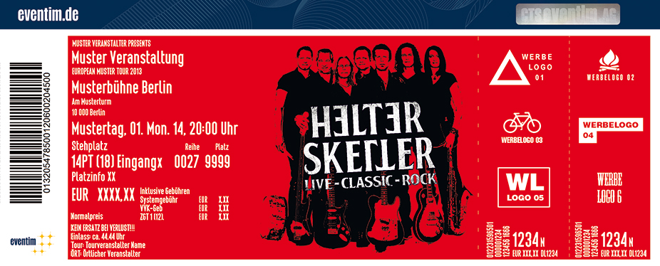 Karten für Helter Skelter in Nürnberg