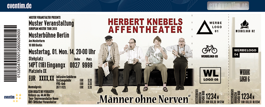 Karten für Herbert Knebels Affentheater: Männer ohne Nerven in Euskirchen