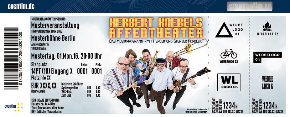 Karten für Herbert Knebels Affentheater: Rocken bis qualmt! in Herne