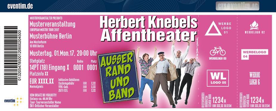 Karten für Herbert Knebels Affentheater: Außer Rand und Band in Mülheim An Der Ruhr