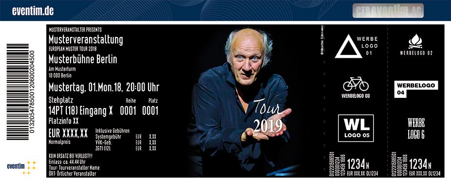 Karten für Herman van Veen - Tour 2019 in Wuppertal