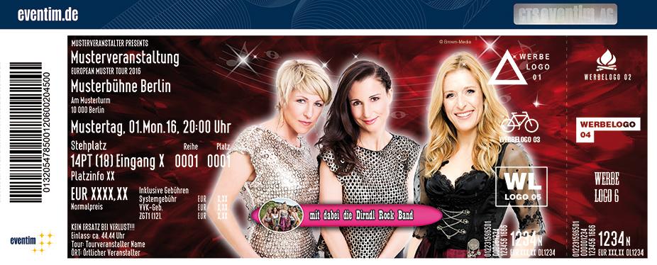 Karten für Stefanie Hertel & Anita und Alexandra Hofmann - Die große Frauenpower Tournee 2017 in Riesa