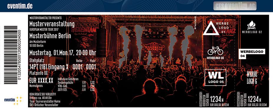 Hexentanz Open Air Festival Karten für ihre Events 2018