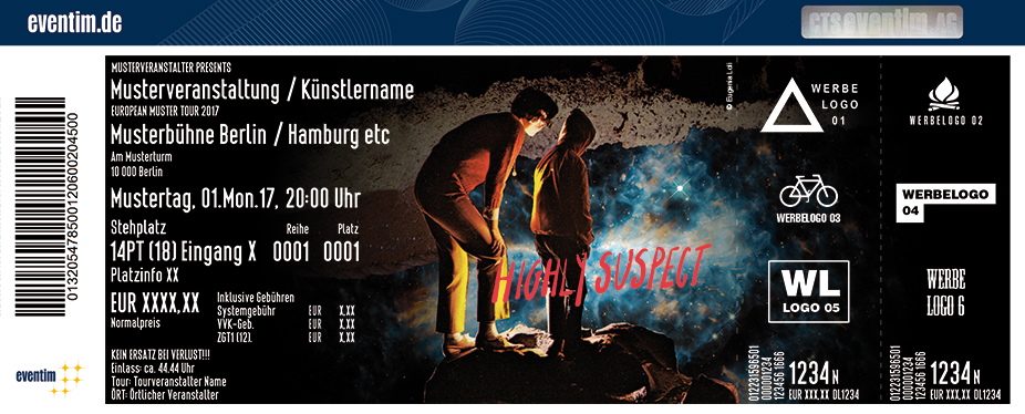 Karten für Highly Suspect in Berlin