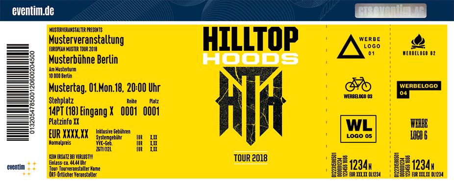 Karten für Hilltop Hoods in Frankfurt A. M.