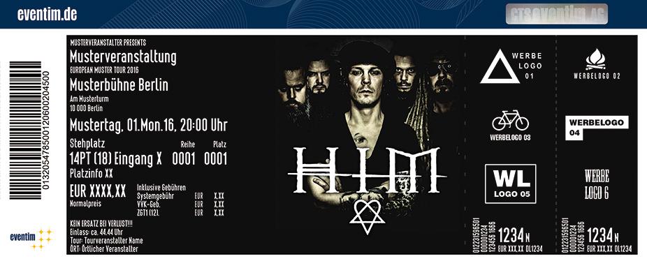Karten für HIM in Hamburg