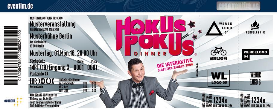 Karten für Hokus Pokus Dinner präsentiert von WORLD of DINNER in Melle / Osnabrück