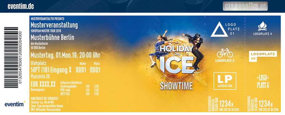 Holiday on Ice - SHOWTIME in Münster