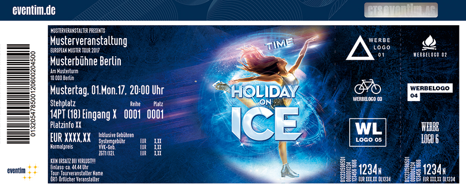 Karten für Holiday on Ice - TIME 2018 in Berlin in Berlin