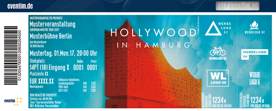 Karten für Hollywood in Hamburg in Hamburg