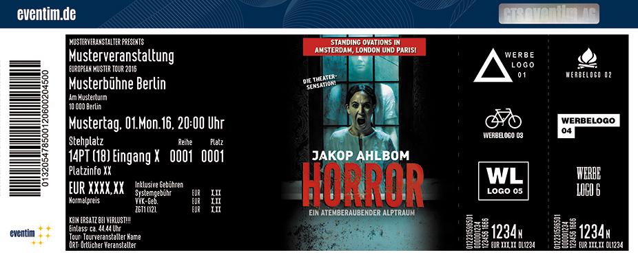 Karten für Horror - Ein atemberaubender Alptraum - Tour 2017 in Stuttgart