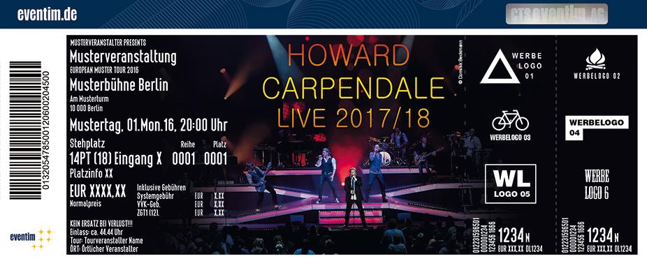 Howard Carpendale Karten für ihre Events 2017