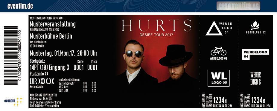 Karten für Hurts: Desire Tour 2017 in Berlin