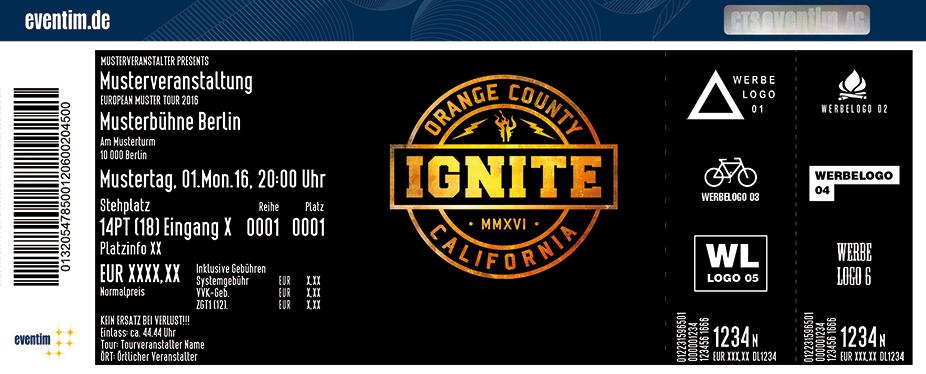 Karten für Ignite in Köln