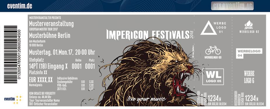 Impericon Festival Karten für ihre Events 2017
