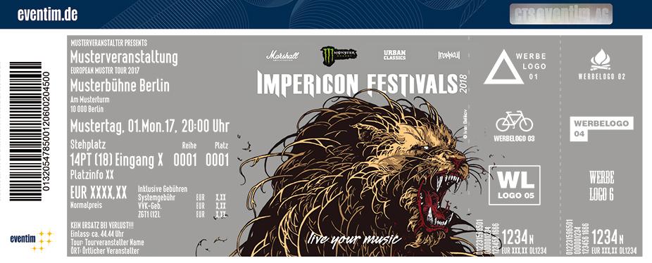 Impericon Festival Karten für ihre Events 2018
