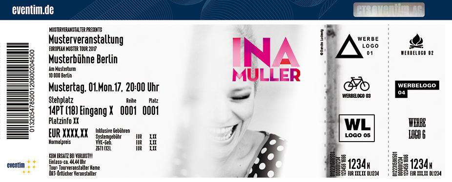 Ina Müller Karten für ihre Events 2018