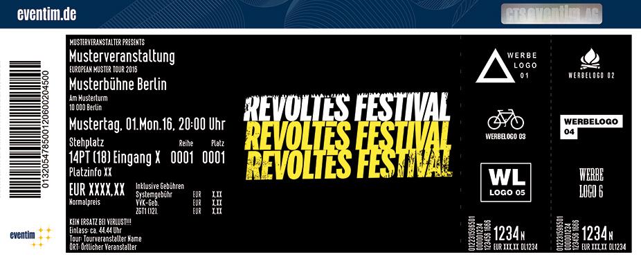 Irie Révoltés Karten für ihre Events 2017