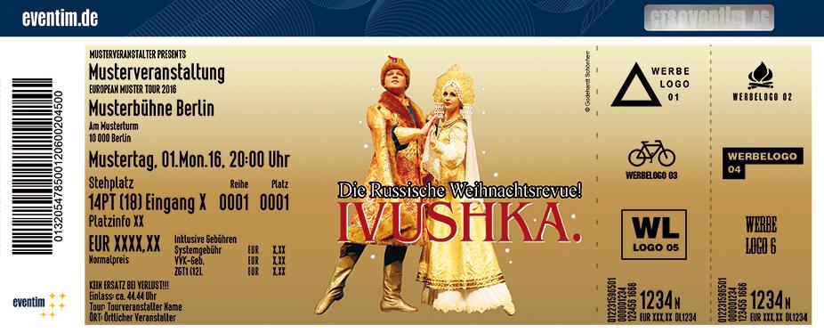Karten für Ivushka - Die Russische Weihnachtsrevue in Schweinfurt