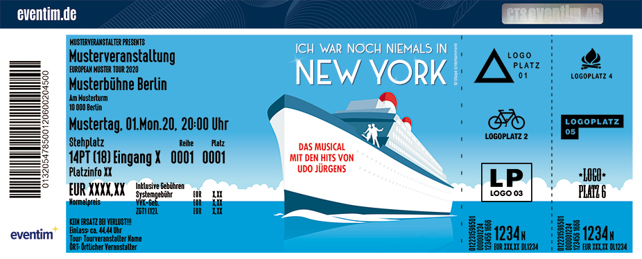 ICH WAR NOCH NIEMALS IN NEW YORK - Das Musical in Berlin