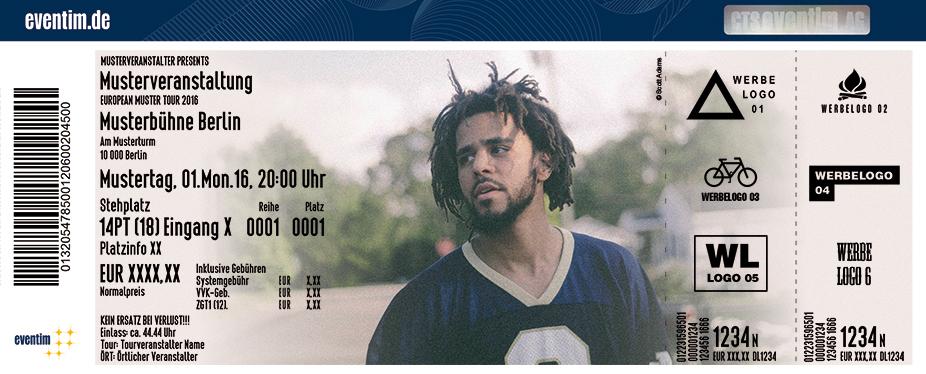 Karten für J. Cole in Berlin
